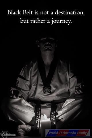 Taekwondo is not a sport, but a way of life