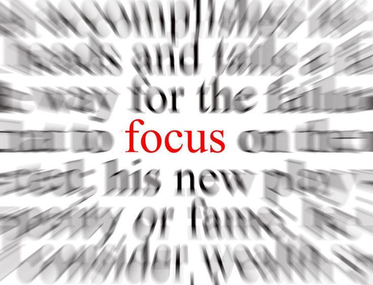 Better in Focusing and Concentrating
