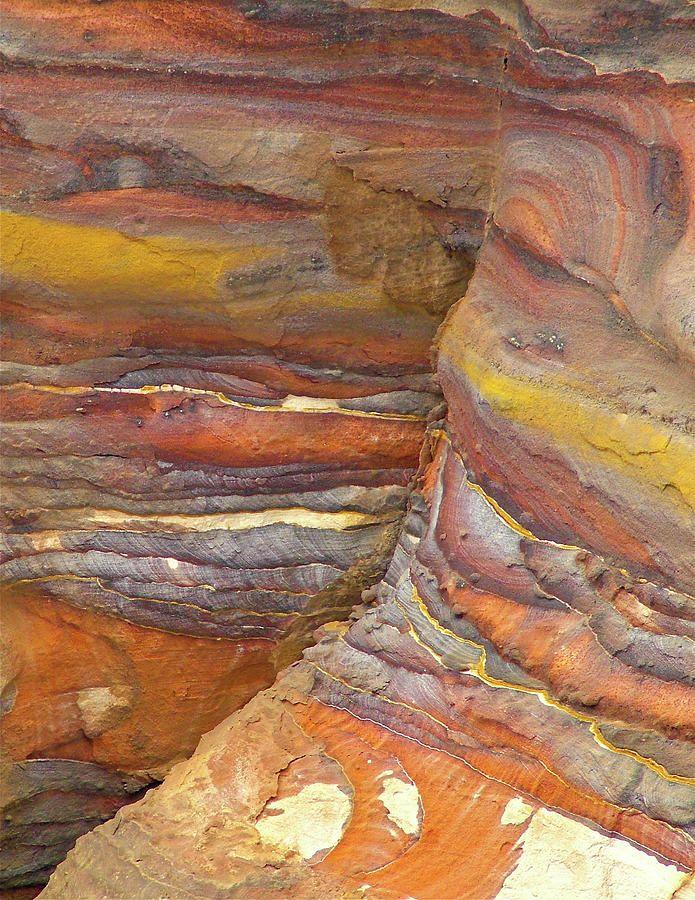 Belly  Eyes Rock - Petra, Jordan --_Very cool layering