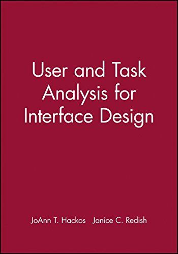 User and Task Analysis for Interface Design by JoAnn T. H...