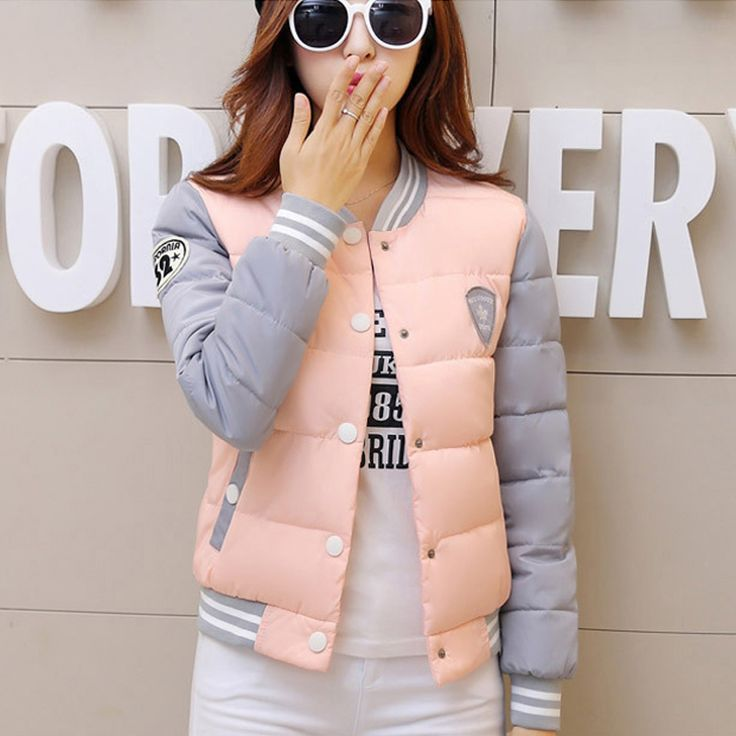 2016 New winter jacket women Korea fashion uniform warm jackets winter cotton coat women female parkas Women's jacket Plus Size #>=#>=#>=#>=#> Click on the pin to check out discount price, color, size, shipping, etc. Save and like it!