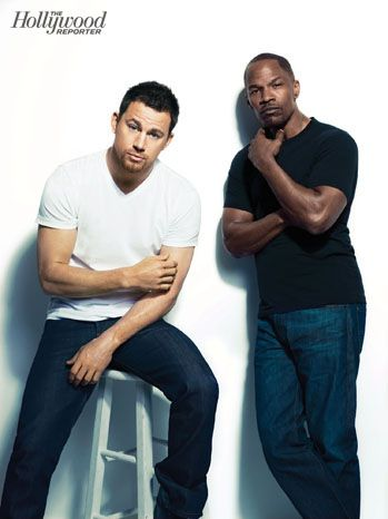 'White House Down': Jamie Foxx, Channing Tatum Pose for Exclusive Portraits - Hollywood Reporter