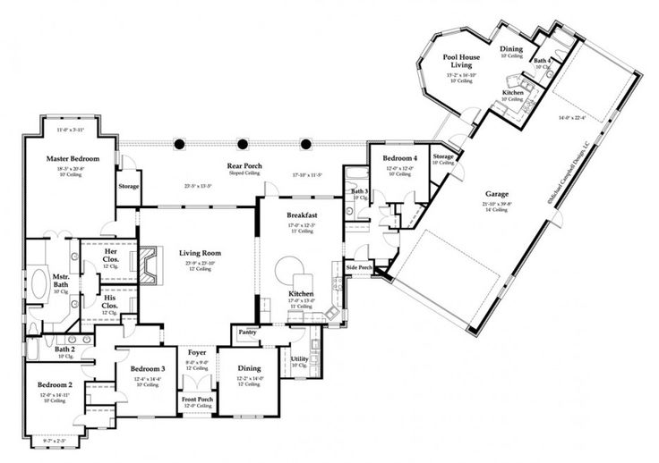 How to create custom home plans c documents and for Custom french country house plans