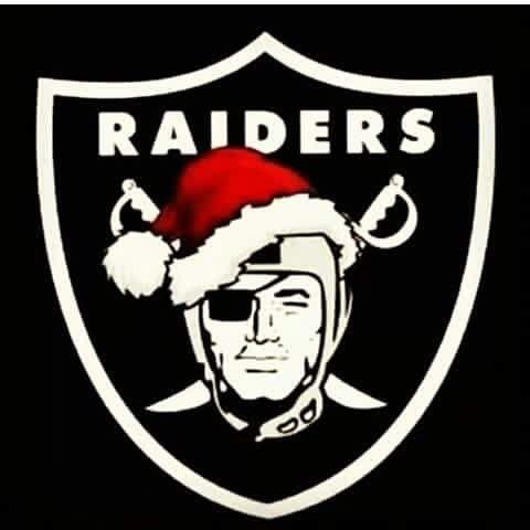 Raiders Santa