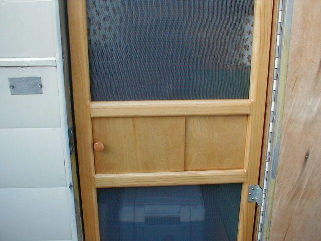 how to build a screen door frame