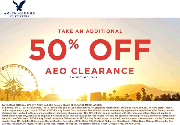 American eagle discount coupons 2019