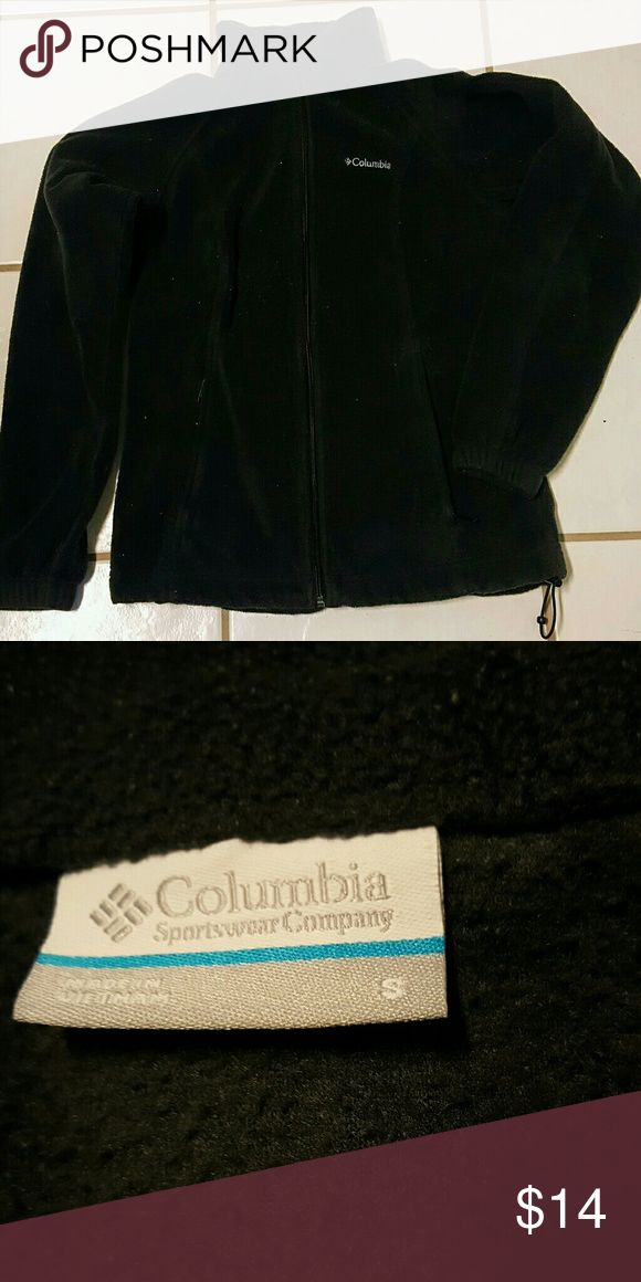 Columbia Soft fleece jacket For your cool-weather needs.  construction keeps you warm and comfortable all year round. Embroidered logo adds authentic appeal. Zip front Long sleeves 2-pocket Polyester Machine wash Columbia Jackets & Coats