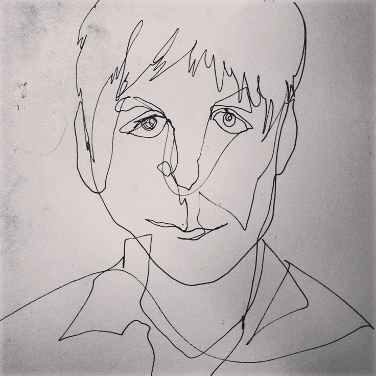 Contour Line Drawing Picasso : Images about art single line drawings on pinterest
