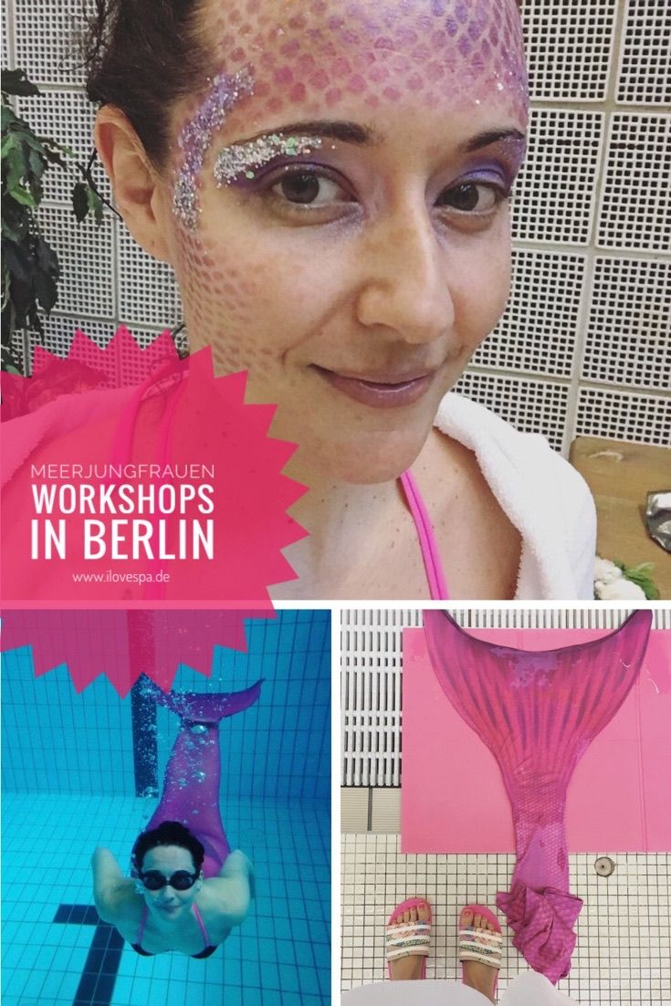 Meerjungfrauen Schwimmen in Berlin - Mermaiding Workshops für Erwachsene