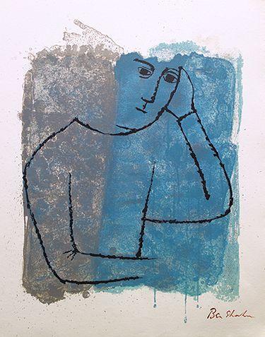 Ben Shahn, illustrating Rilke's 'The Notebooks of Malte Laurids Brigge'