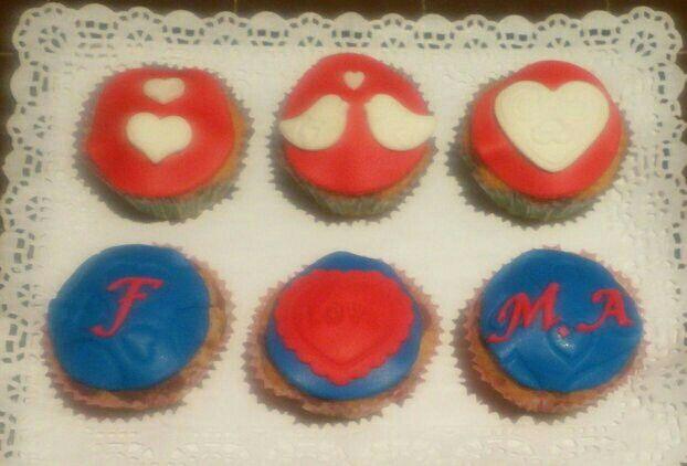 Cupcakes romántucas!!