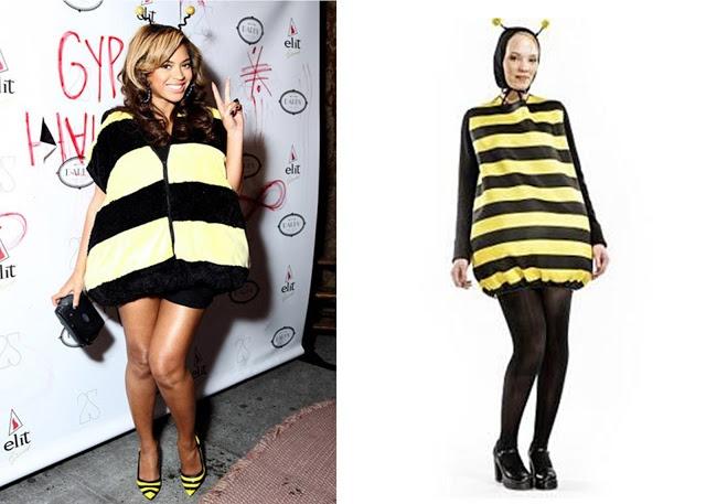 Beyonce costume, disfraz Beyonce, disfraz abeja, disfraz abeja Beyonce, como hacer disfraz de abeja