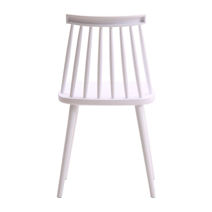 Browse Modern Dining Chairs Online or Visit Our Showrooms To Get Inspired With The Latest Dining Chairs From Life Interiors - Olivia Spindle Dining Chair (White)