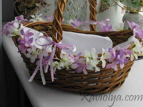 Красивая пасхальная корзина: идеи оформления | Домохозяйка