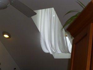 Nice skylight curtain for hot sunny days
