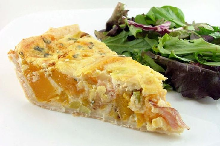 Roasted Butternut Squash, Prosciutto, and Sage Quiche recipe on Food52