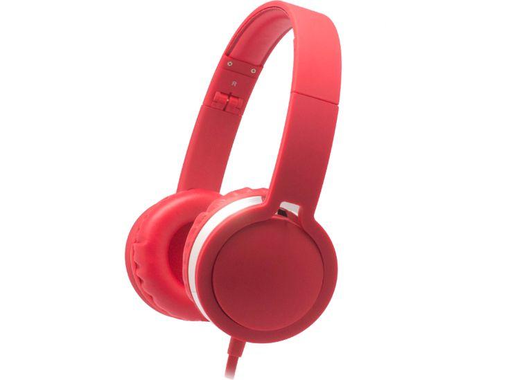 MAXELL MXH-HP201 Sper Style fejhallgató, piros