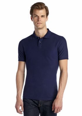 Saddlebred  p1888 Short Sleeve Tailored-Fit Solid Pique Polo Shirt