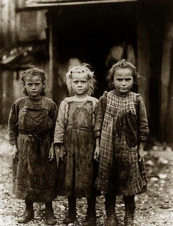 America, before child labor laws……JUST THINK ABOUT IT - THESE POOR LITTLE GIRLS NEVER HAD A CAREFREE   CHILDHOOD…….ALL THEY KNEW ABOUT WAS WORK………….ccp