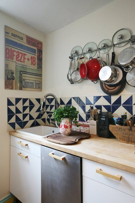 A touch of tile ....Doing This One Thing Will Save You Thousands in the Kitchen