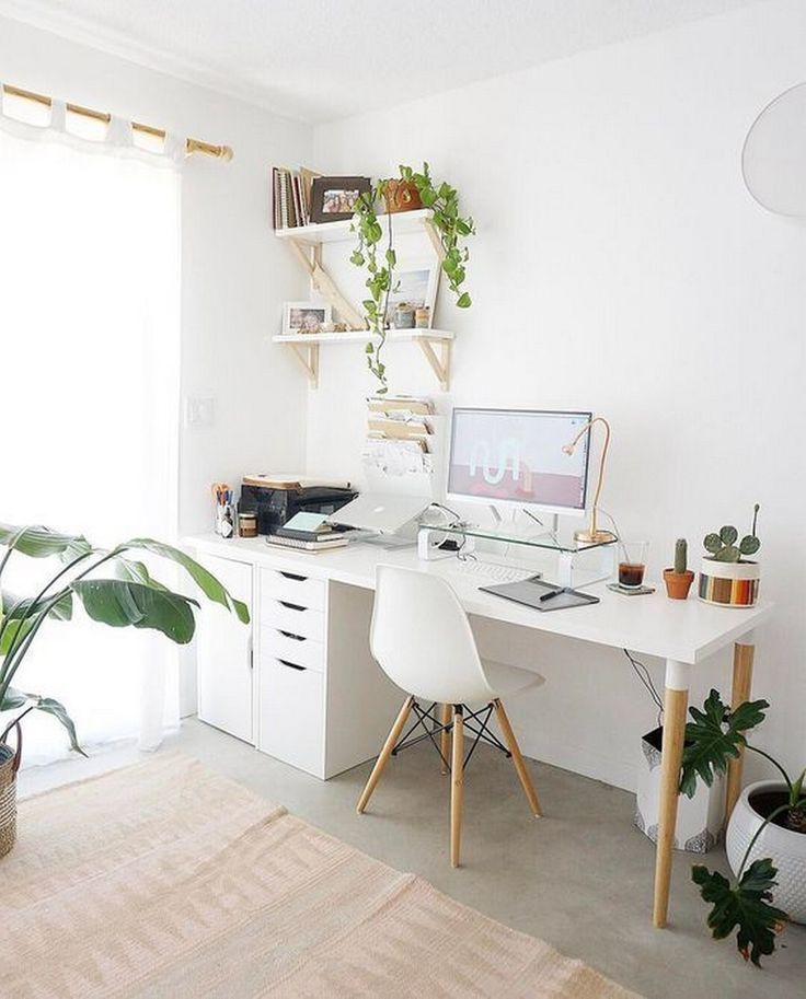 Home Office Study Room Study Desk Work Desk Ideas