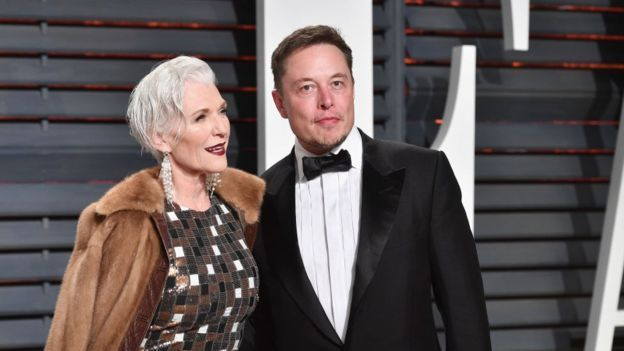 Fashion and the older model   Maye Musk with son Elon photo reblogged from BBCNews  I was very happy this morning when on my BBC News feed among the most depressing news concerning leaked Brexit papers the usual song and dance about the young Royal couple