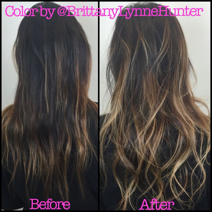Highlights | balyage | sun kissed |  | LA hair | brunette | golden | Caramel highlights | hair by @BrittanyLynneHunter