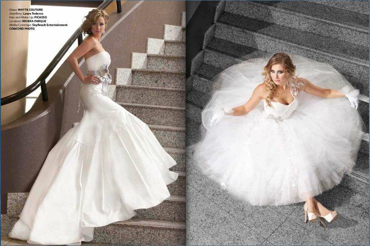 2012 Winter/Spring Bride & Groom Canada: Toronto Edition. #Hair #makeup by Picaso Studios. #bride #bridal #bridalhair #bridalmakeup #bridalstyle #wedding #weddinghair #weddingmakeup #weddingstyle