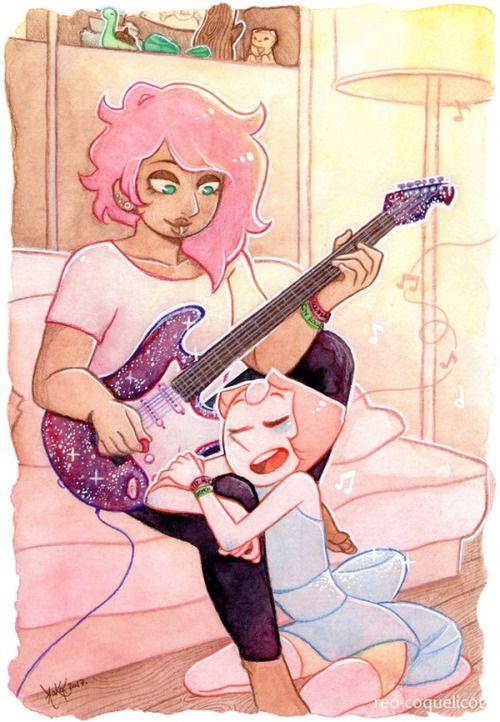 Imagen de pearl, mystery girl, and steven universe