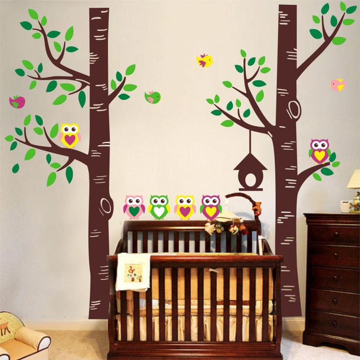 32 best images about cute wall art designs for kiddies rooms on pinterest for kids floral - Images of kiddies decorated room ...
