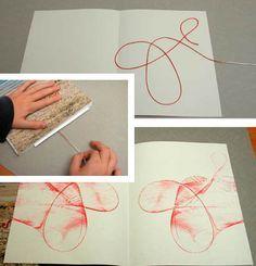 Malen mit Fäden                                                       …