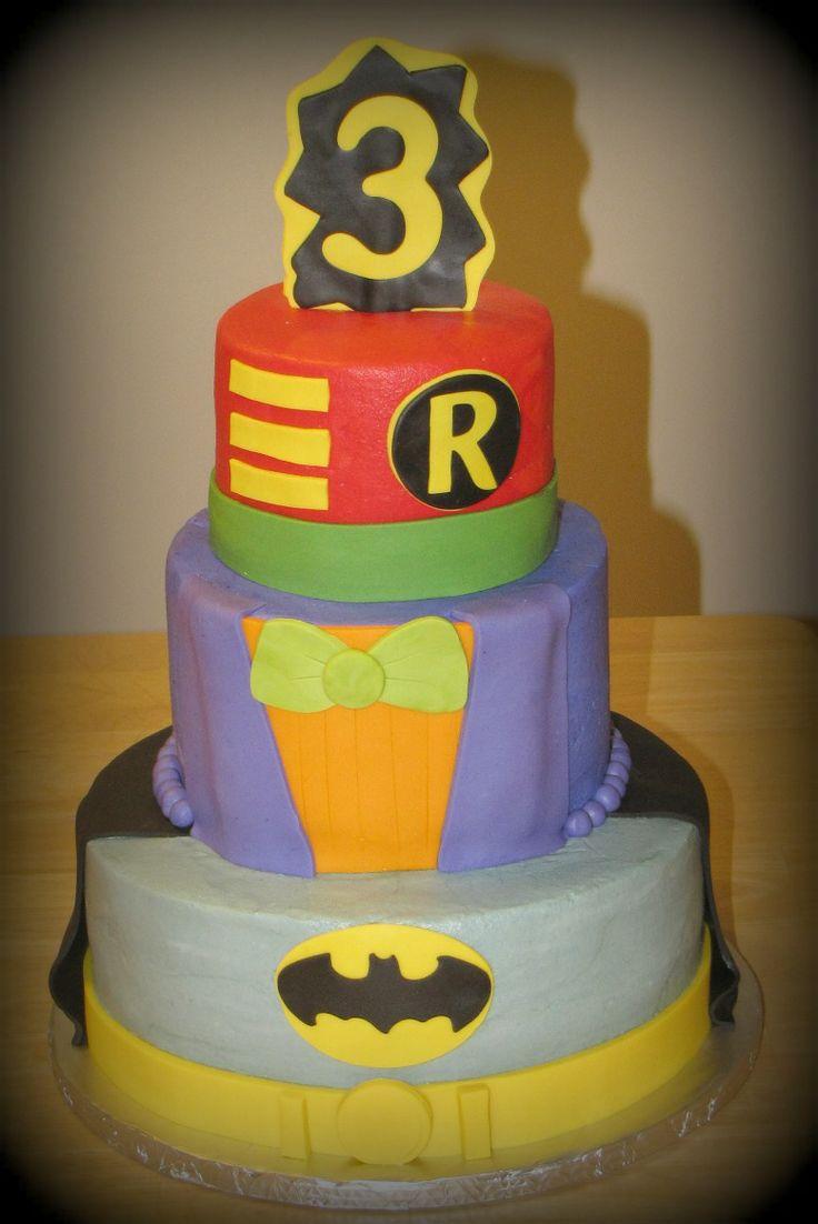 Batman Robin Amp Joker Cake My Creations Pinterest