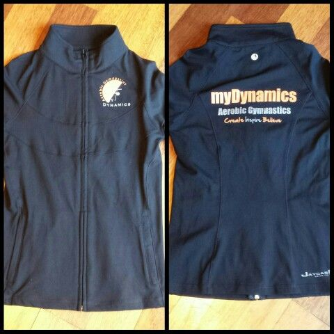My Dynamics Buderim new jacket, excited to be able to support a local business.