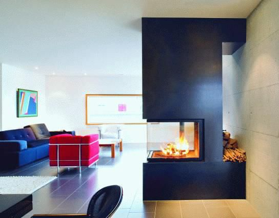 Wood Closed Hearth 3 Sided Metal For Fireplace