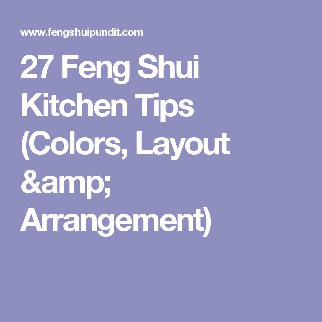 27 Feng Shui Kitchen Tips (Colors, Layout & Arrangement)