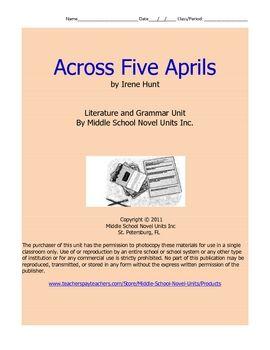 Across Five Aprils Book Review Essay