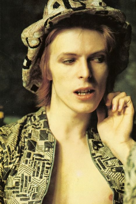 David Bowie....Ziggy is introduced to the world, 1972