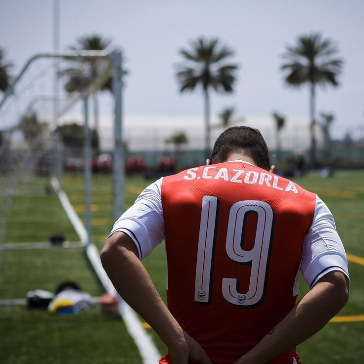Magic in every touch.  One last chance to win a signed @santicazorla @arsenal jersey + a pair of @pumafootball evoTOUCH. Tag an #Arsenal fan, then hit the link in the bio to enter #soccerdotcom 📷: @godspeedgoodsir