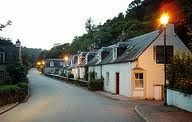 rosemarkie black isle scotland, cottages where Dad was born in 1910.