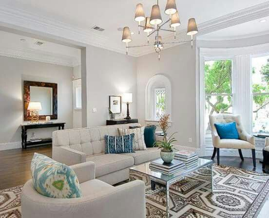 Chic Elegance Of Neutral Colors For The Living Room 10 Amazing Examples: Best 25+ Benjamin Moore Abalone Ideas On Pinterest