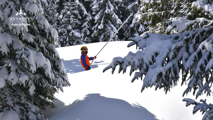 A ski resort in the French Alpes for all the family