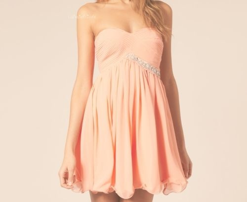 : Fashion, Summer Dress, Homecoming Dresses, Style, Dream Closet, Color, Clothes, Peach