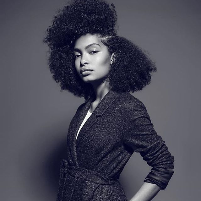 @yarashahidi ✨ Beau-ti-ful. #curlsforthegirls