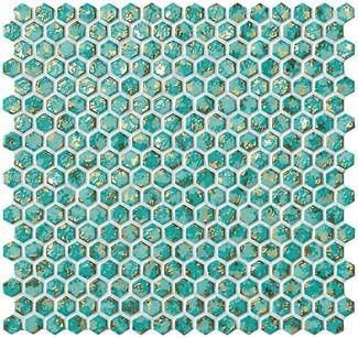 Turquoise Hexagon