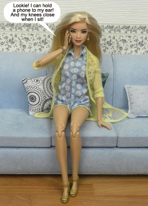 "2016 Barbie Made to Move doll has 22 ""joints"" for an incredible range ..."