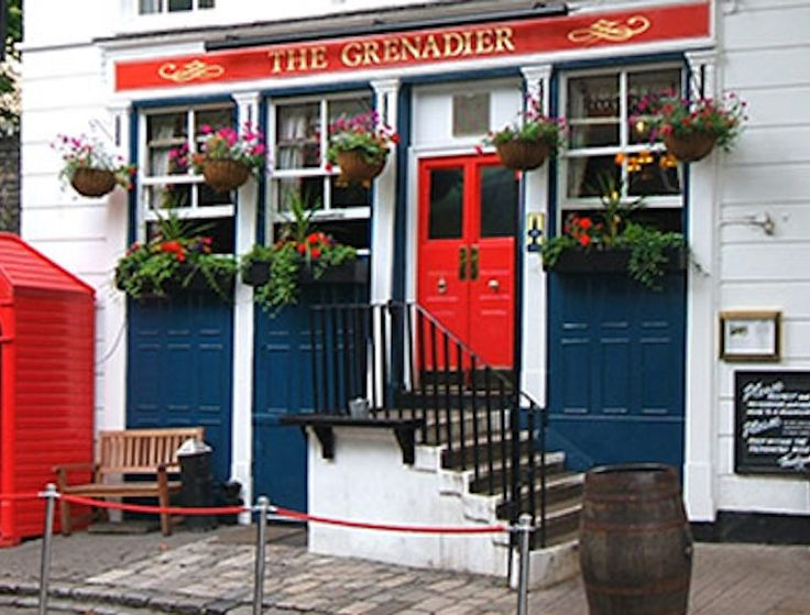 If you're visiting London, it's sort of a requirement to visit a pub. The Grenadier is our long time favorite