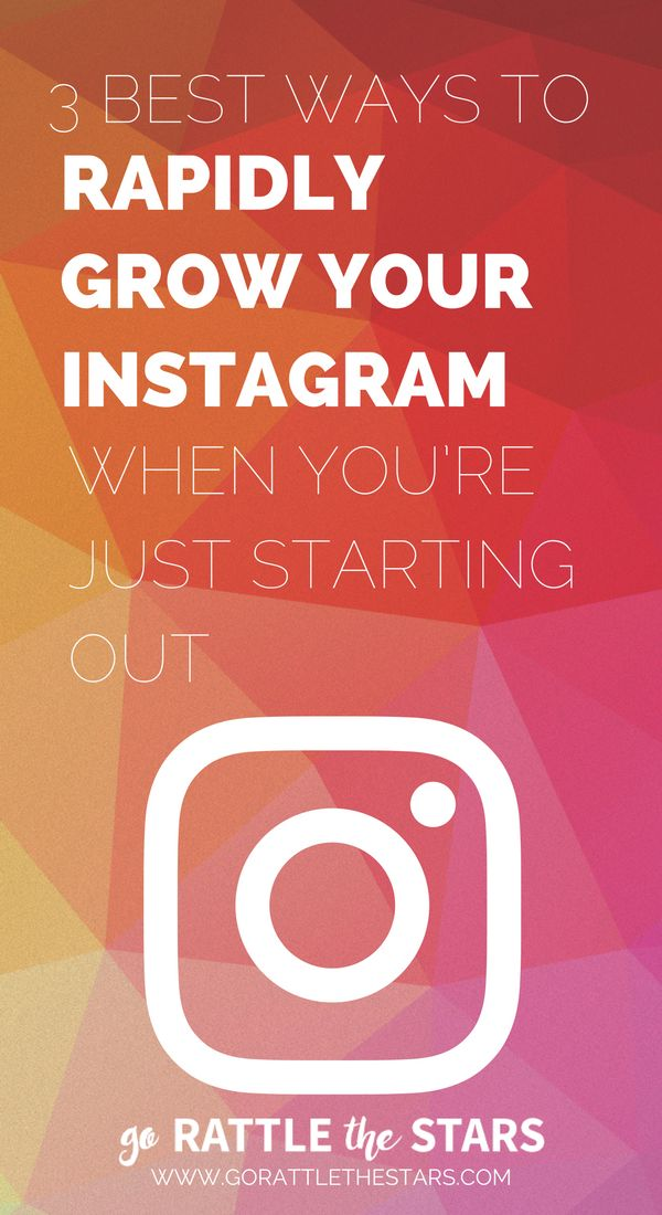 3 Best Ways to Rapidly Grow Your Instagram When You're Just Starting Out | Instagram Strategies | Instagram Tips | Social Media