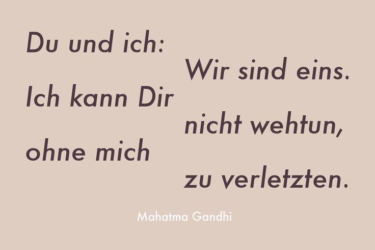 Mahatma Gandhi über Freundschaft. Happy International Friendship Day!