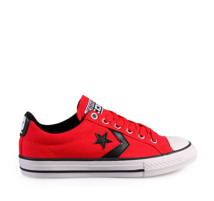 CONVERSE Red Unisex Kid's Sneakers STAR PLAYER EV (647719C). Παιδικά sneakers για αγόρια και κορίτσια.