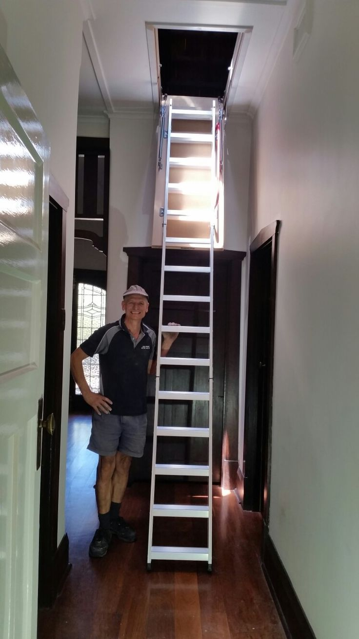 1000 Ideas About Attic Ladder On Pinterest Attic Fan